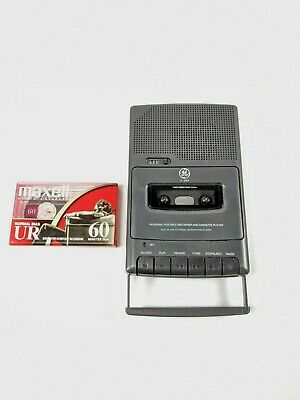 GE Personal Portable Cassette Player Recorder - Model 3-5027