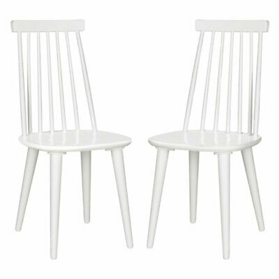 Safavieh Burris Spindle Side Dining Chair - Set of 2