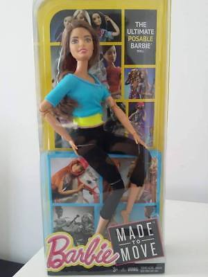NRFB Brand New & HTF Barbie Sold Out Made to Move Yoga Barbie