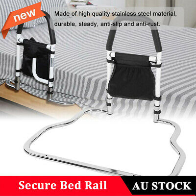 Secure Bed Rail Anti-slip Bedroom Safety Fall Prevention Aid Handrail AU