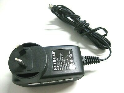 Netgear 12V 1A AC-DC Power Adapter Charger AD810100, 332-10278-01, Type: 007LF