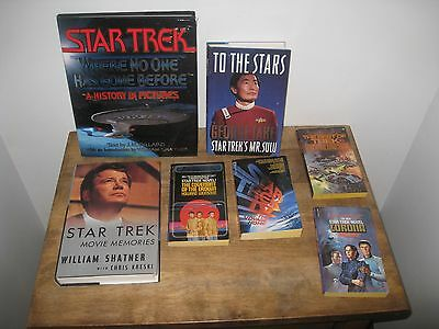 Vintage Star Trek Book Collection Mixed Lot Of 24 Books