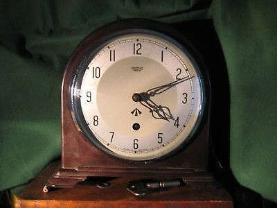 Smiths Enfield mantel / desk Clock, probably  EX, MOD WW2 NOW REDUCED to £ 99.00