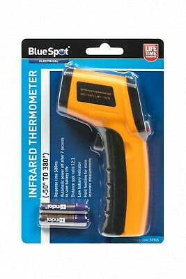 Infrared thermometer -50C to +380C degree range BlueSpot 31515