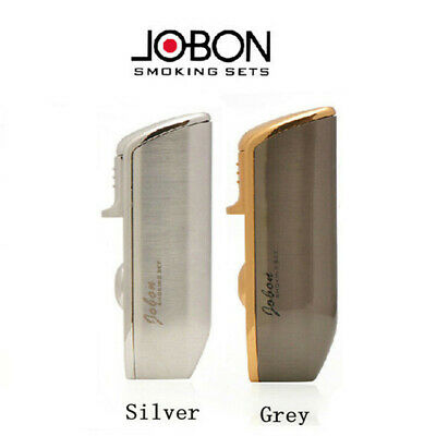 Jobon Adjustable Triple Torch Jet Flame Refillable Butane Gas Pipe Cigar Lighter