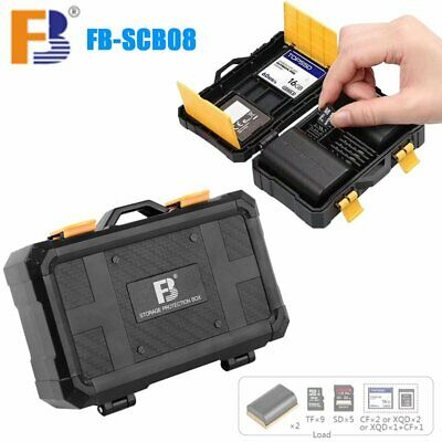 FB-SCB08 Camera Battery Micro SD TF Memory Card Protect Storage Box Case Holder