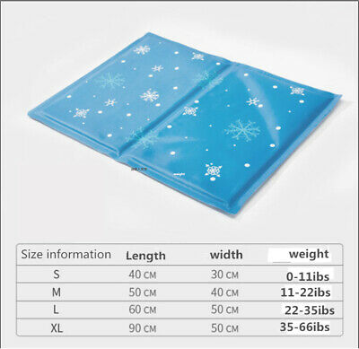 Pet Dog Self Cooling Mat Pad for Kennels, Crates and Beds- Arf Pets