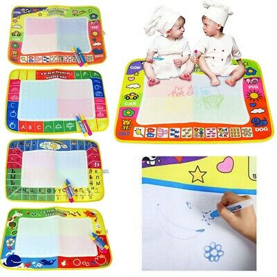 4 Colors Graffiti Blanket Children's Drawing Toys Learning Drawing Toys with Pen