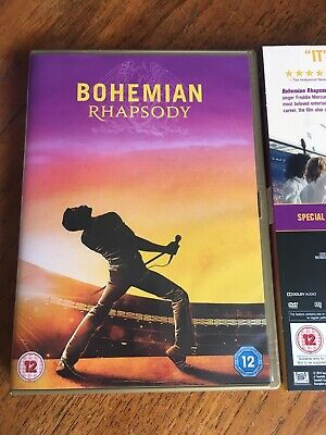 Genuine BOHEMIAN RHAPSODY DVD 2019 Like New