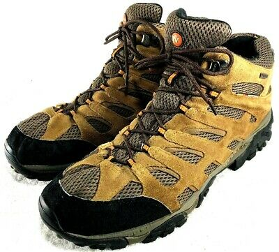 71f6fbacdbd MERRELL MENS SIZE 8.5 Moab 2 Mid GTX Earth Brown Waterproof Hiking ...