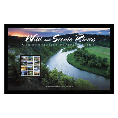 USPS New Wild and Scenic Rivers Framed Stamps