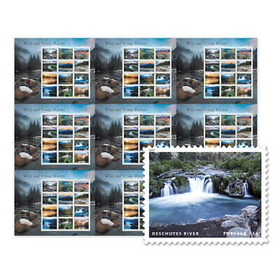 USPS New Wild and Scenic Rivers Press Sheet