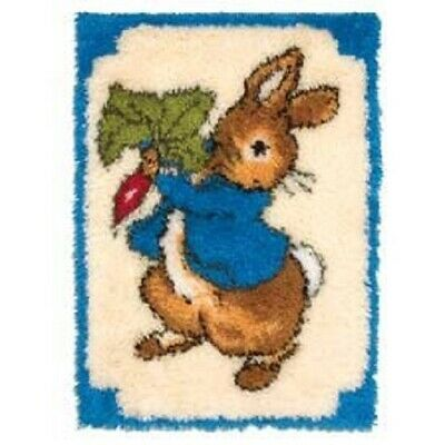 "Latch Hook Rug Kit""Fun Rabbit"" 52x38cm"