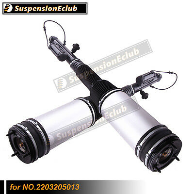 Rear Air Suspension Pair for Mercedes Benz S Class W220 S430 S500 S600 S55 AMG