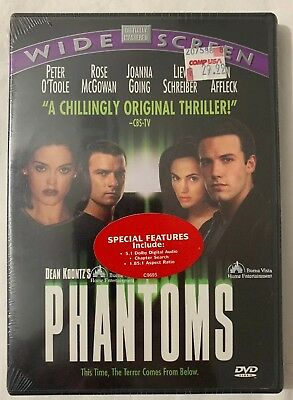Phantoms (DVD, 1998, Widescreen) Peter O'Toole - Rose McGowan