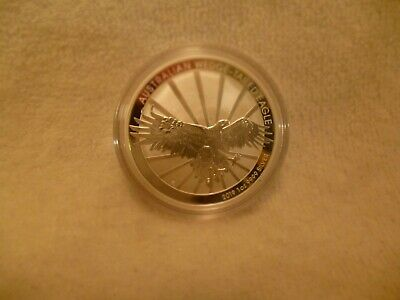 2019 Australian 1 Ounce Silver Wedge Tailed Eagle Reverse Proof Coin .999 Fine