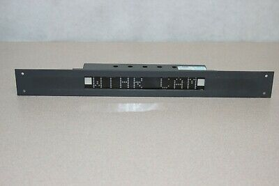 TSL UMD S8C Under Monitor Display Unit with 345mm Plate. (0000_22P)