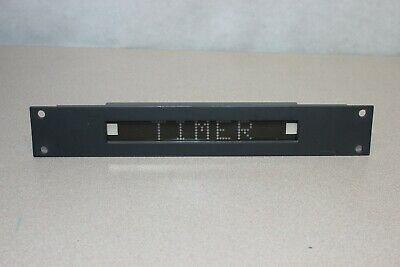TSL UMD S8C Under Monitor Display Unit with 290mm Plate. (0000_22N)