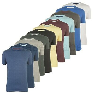 Chase And Abe Mens Crew Neck Plain Cotton T Shirts