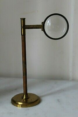 Nice Antique Large Bullseye Microscope Lens Diameter 6Cm
