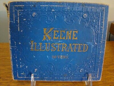 Keene NH Illustrated - 60 Views by J.A. French ANTIQUE BOOK
