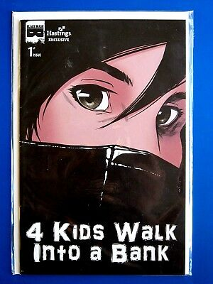 4 Kids Walk Into A Bank #1 Vf+ Hastings Exclusive Variant