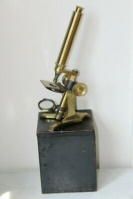 Small Antique Bar Limb Microscope By Chadburn 71 Lord St Liverpool