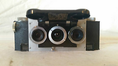 Stereo Realist Camera with 35mm David White Anastigmat lenses