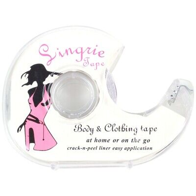 Clear Double-Sided Lingerie Tape Body Adhesive For Clothing Wedding Dress Pr 9T3