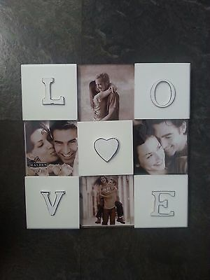 Malden International Designs Love 4 Opening Collage Frame 3 1/2  X 3 1/2