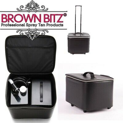 Tanning Essentials spray tan carry case telescopic arm and wheels