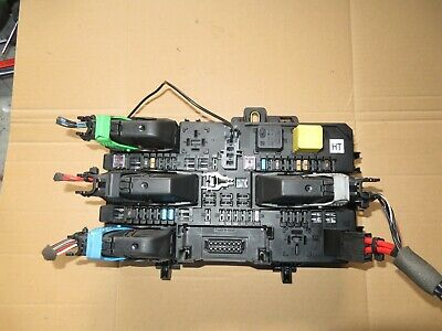vauxhall astra h zafira b rear fuse box relay 13 222 173 ht bcm tested 05