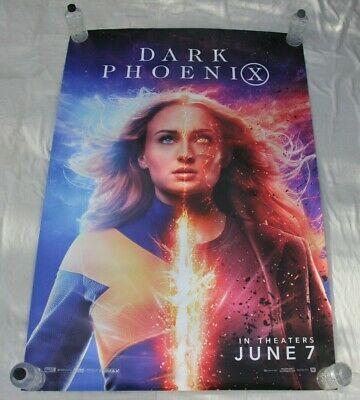 DARK PHOENIX  Sophie Turner MARVEL X-MEN BUS SHELTER MOVIE POSTER 4'x6'