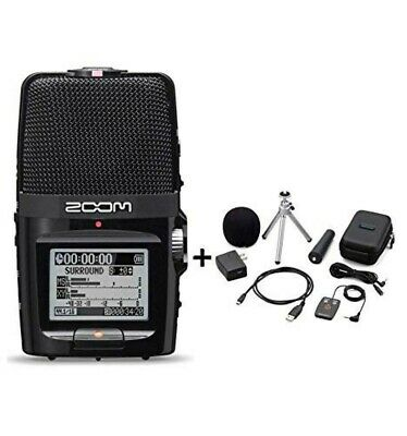 ZOOM H2n Handy Portable Recorder PCM / Accessoary Kit APH-2n from JAPAN New
