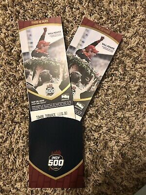 2 Tickets Terrace Tower Indianapolis 500 tickets 2019