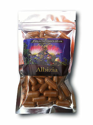Albizia Extract ( 10:1 equivalent to 4000mg ), Vegetarian Capsules
