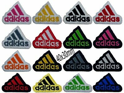 Embroidered Patch Badge Adidas Iron on sew on  Shirts jackets Bags Jean
