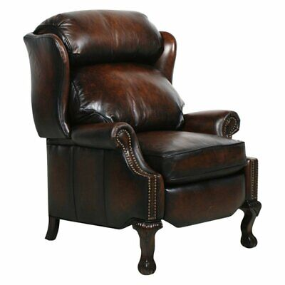 Barcalounger Danbury II Leather Recliner with Nailheads