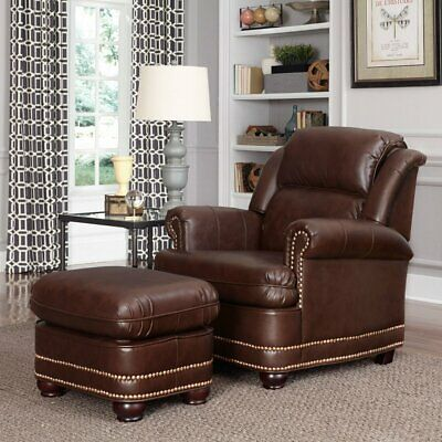 Home Styles Beau Stationary Club Chair with Optional Ottoman