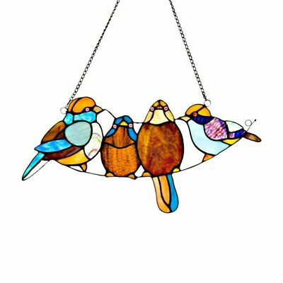 River of Goods Stained Glass Song Bird Window Panel