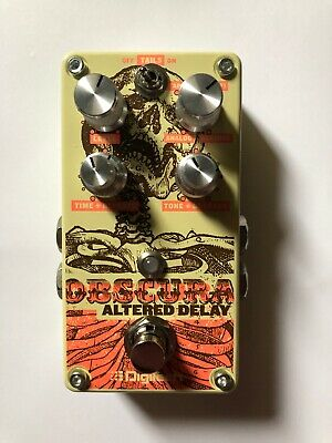 DigiTech Obscura Altered Delay Guitar Effects Pedal Used