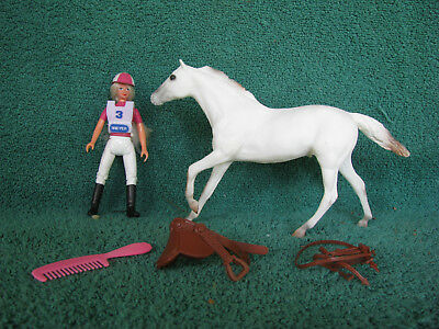Breyer #710496 Paddock Pals 1996 JC Penney SR Young Equestrian Team Set