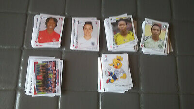 Panini coupe du monde féminine 2019 lot de 10 stickers