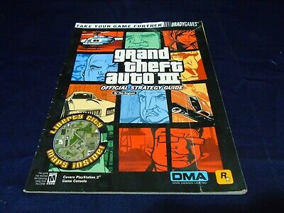 Grand Theft Auto 3  Official Strategy Guide Brady Games