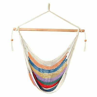 Prime Castaway Hammocks Single Cotton Rope Hammock Swing By Pabps2019 Chair Design Images Pabps2019Com