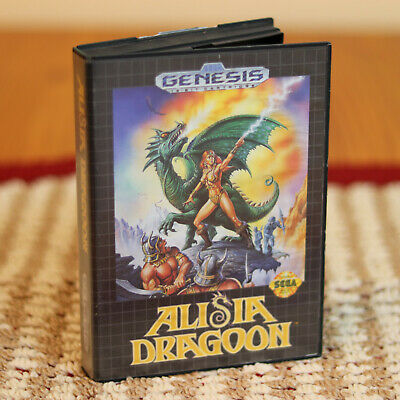 Alisia Dragoon (Sega Genesis, 1992) - Case ONLY - Game & Manual NOT Included