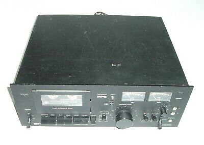 MCS Modular Component Systems 3562 Stereo Cassette Tape Deck