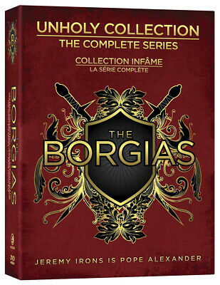 The Borgias - Unholy Collection (The Complete Series) (Boxset) (Bilingual) (Dvd)
