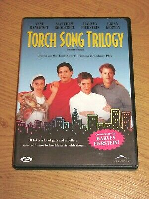 Torch Song Trilogy (1988) DVD OOP Region 1 Anne Bancroft Matthew Broderick