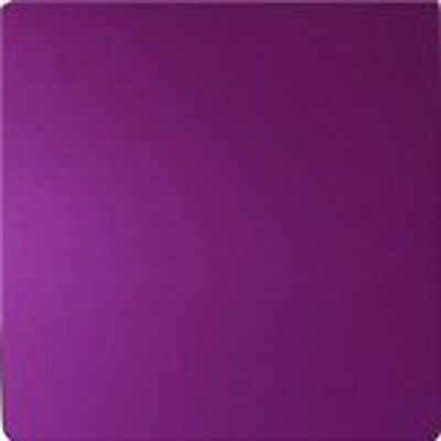 "EMF Electromagnetic Fields Protection Tesla Purple Energy Large Plate 12"" x 12"""